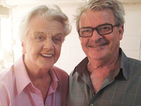 With Angela Lansbury