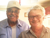 With James Earl Jones